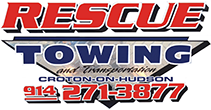 Rescue Auto Repair And Towing Logo